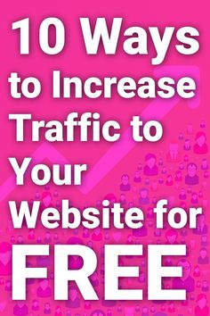 Looking for free ways to increase your website traffic? This post focuses on 10 non-hack, legitimate methods I used to increase my own website traffic - that I still use today. Click through to read more. Website Design Cost, Website Design Services, Website Design Company, Wordpress Website Builder, Wordpress Website Development, Website Web, Website Themes, Web Design, Design Ideas