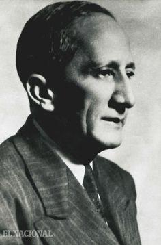 Andrés Eloy Blanco, poeta y político. Nace en Cumaná (Edo. Sucre) el 06-08-1896 y muere en Ciudad de México el 21-05-1955.  Foto: Archivo / El Nacional