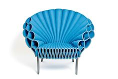 Peacock chair, Dror Benshetrit for Cappellini, 2009.