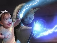 Toddler gets starring role in movies with a little help from a creative dad