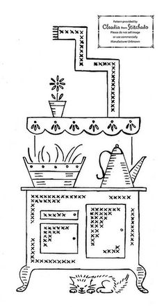Vintage Kitchen Pattern