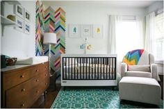 Whoa. Completely smitten with this nursery for an 'adventurous' infant. http://thestir.cafemom.com/baby/166725/a_beautiful_babys_bedroom_for?utm_medium=sm&utm_source=pinterest&utm_content=thestir