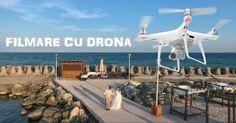 Filmarile cu drona sunt foarte spectaculose, deoarece filmarea de sus poate dezvălui maretia acelei locatii unde se desfasoara nunta si imprejurimile sale