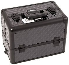 Craft Accents Interchangeable Extendable 6-Tier Aluminium Craft/Quilting Storage Case with Dividers, Black *** More info could be found at the image url.