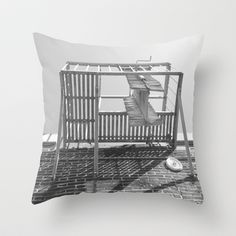 Looking Up #4 Throw Pillow by IAMTHELAB