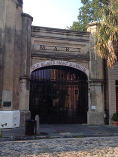 Old slave market Charleston South Carolina
