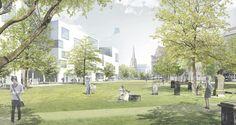 Studio Wessendorf - Städtebau - Hannover City 2020+