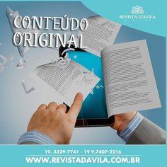 Nos orgulhamos em dizer que a maior parte de nossos conteúdos são originais!  http://ift.tt/1UOAUiP Entre em contato conosco e conheça nossos serviços e vantagens: (19) 3329-7741 / 9.7407-2216 ou contato@revistadavila.com.br