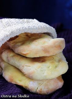 Bread Recipes, Cooking Recipes, Arabian Food, Polish Recipes, Polish Food, Magic Recipe, Naan, Hot Dog Buns, Good Food