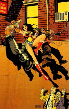 Wonder Woman by Eduardo Risso