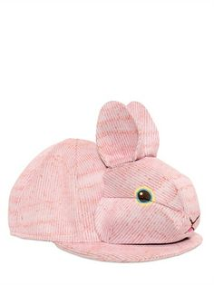 RABBIT NEOPRENE BASEBALL HAT. #rabbit #rabbithat