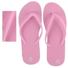 11e37b968 Wholesale Bulk Lot 48 Women s Ladies Summer Beach Pink Flip Flops Size S