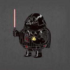 Darth Vader - personajes gordos alex solis