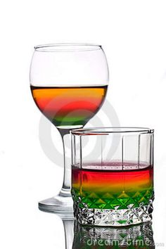 exotic acohol cocktails   Served Multicolored Alcohol Drinks Stock Photos - Image: 13895923