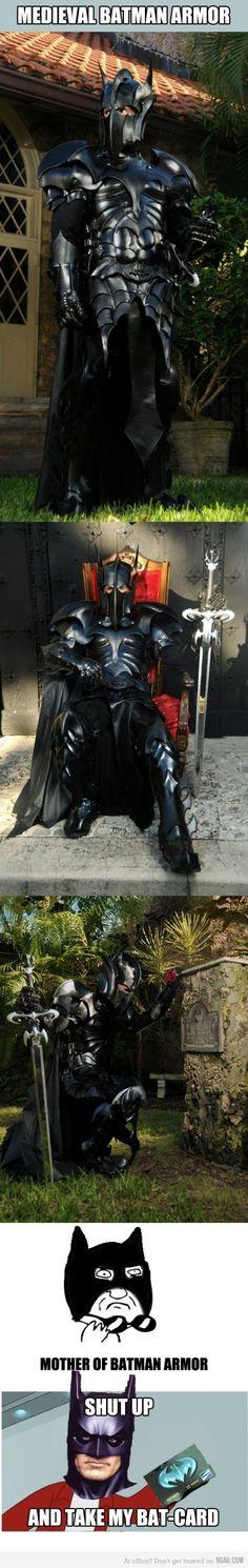 Holy Armor, Batman!