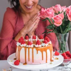 Kakut Archives | Annin Uunissa Raspberry Mousse, Cheesecake Cake, Most Delicious Recipe, Cake Flour, Drip Cakes, Let Them Eat Cake, Beautiful Cakes, Cake Decorating, Oatmeal