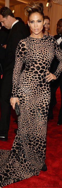 Jennifer Lopez, Michael Kors | Met Gala 2013