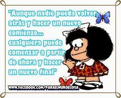 Para el muro: Frases con Mafalda                                                                                                                                                                                 Más