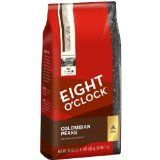 Eight OClock Colombian Peaks Whole Bean Coffee, 40-Ounce Package