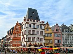 Marktplatz in Trier. One of my favorite places in Germany!