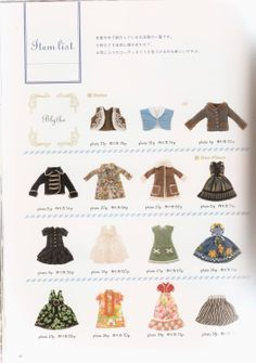 Free Copy of Book - Doll Coordinates 11