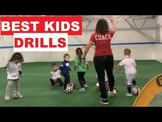 Kids Soccer Games, Football Drills For Kids, Soccer Tips, Elementary Physical Education, Elementary Pe, Soccer Drills For Beginners, Soccer Practice Drills, Motor Skills Activities, Soccer Coaching