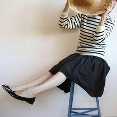 みなさんもパリジェンヌをお手本に、フレンチカジュアルスタイルを楽しんでみはいかがでしょうか。