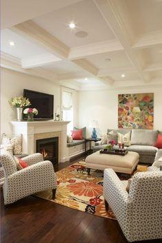 Sanibel Model - Living Room Kitchen living room layout | new main ...