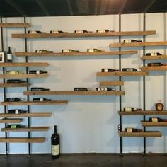 Wine rack Wall... AMAZING.