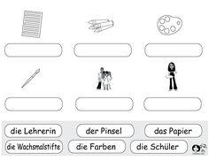 school worksheets german