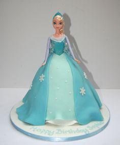 Elsa Cake From Frozen – Etoile Bakery Frozen Party Cake, Frozen Doll Cake, Elsa Doll Cake, Frozen Dolls, Bolo Frozen, Elsa Frozen, Disney Frozen, Elsa Birthday Cake, Frozen Birthday Party