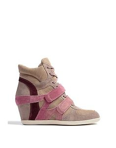 ASOS Fashion Finder | Rose Bea Wedge Trainers by Ash