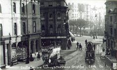 This is taken from the bottom end of North Street looking towards the Steine.