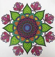 ColorIt Mandalas Volume 2 Colorist: Diana Gonzalez #adultcoloring #coloringforadults #mandalas #mandalastocolor