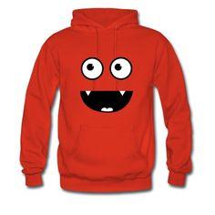 Vorsicht Bissig!!! Das Vampir Monster Gesicht macht jedes T-Shirt & co definitive zu einem echten Hingucker. Mehr Lustige Motive findet ihr in meinem Shop  Link: http://badbugs.spreadshirt.de/ Pullover.