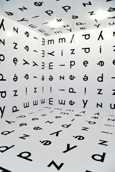 """covered by words  Stanisław Dróżdż]  letters create word """" between"""" in polish"""