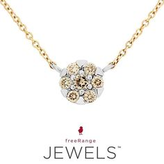 Delicate and oh-so amazing. Who else is in love? View our brand new Yellow and White Gold Diamond Glitz Necklace online. @freerangejewels | www.freerangejewels.co.za Latest Jewellery, Necklace Online, Jewelry Branding, White Gold Diamonds, Delicate, Jewels, Photo And Video, Yellow, Amazing
