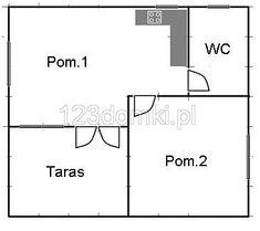 Domek letniskowy 8×7 – Producent domów i domków drewnianych letniskowych Floor Plans, Diagram, Floor Plan Drawing, House Floor Plans