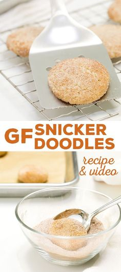 These gluten free snickerdoodles are the classic, super-soft cookies you remember, with that classic, crisp cinnamon-sugar crackle outside. The perfect cookie!