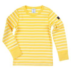 Love this! at Polarn O. Pyret UK & Ireland STRIPED KIDS TOP #polarnopyretuk #qualitychildrensclothes #colourfulkidsclothes Long-sleeve top in organic cotton with soft seams. The top has Polarn O. Pyret stripes and plain cuffs. This product is GOTS certified.
