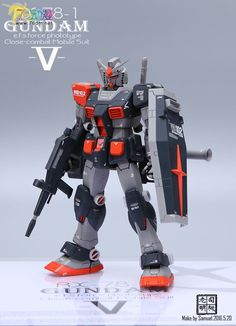 MG 1/100 RX-78-1 Gundam OYW - Customized Build Modeled by Samuel