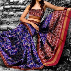 Beautiful Patan Patola Saree by sindhoi patola art