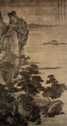 Artist: Tang Yin(1470-1523) - Classical Chinese Painting and Calligraphy from the Yisushanfang Collection - MING DYNASTY