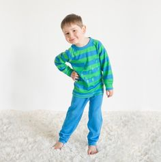 Linzi Merino Lightning Bolt Pyjamas