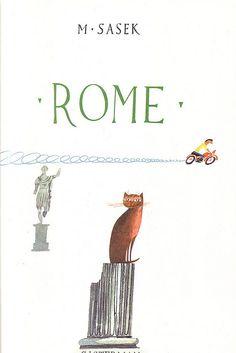 "Livre pour enfants ""Rome"" de Miroslav Sasek (1960)"