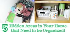 5 Hidden Areas in Your Home that Need to be Organized