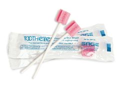 Toothettes clean teeth and freshen breath, and don't even need any water to work—your saliva is good enough—so you can use them anywhere  magellans.com