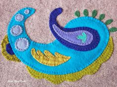 If you missed the first two parts of this Series:   Part 1 (With Free Pattern)  and Part 2       Let's finish our wool applique design  ...
