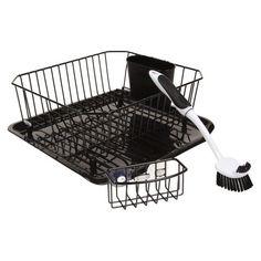 Target Dish Drying Rack Rubbermaid® Small Dish Drying Rack  Black  Dish Drying Racks