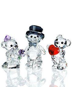 f4f3059863 Swarovski Kris Bear Collectible Figurines Collection & Reviews -  Collectible Figurines - Macy's